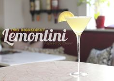 Some of you saw my celebratory Instagram / Facebook post, where I indulged in a martini after discovering that I lost two pounds. With that, I decided I would share my quick and easy, no frills, favorite martini recipe! And it only takes two ingredients! Grab your cocktail shaker, cause we are making Lemontinis! Here's …