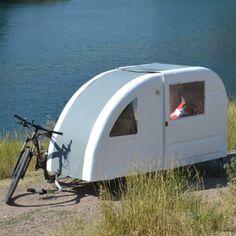 Mini caravana para bicicleta - Wide Path Camper