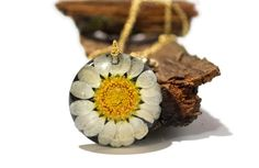 14.99 Real flower resin jewelry necklace real by NThandmadeJewelry