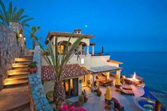 Villa Casita in Cabo San Lucas, Mexico.if I ever go to Cabo I want to stay here! World's Most Beautiful, Beautiful Homes, Beautiful Places, Beautiful Beach, Beautiful Villas, Stunning View, Beautiful Scenery, Absolutely Gorgeous, Cabo San Lucas Mexico