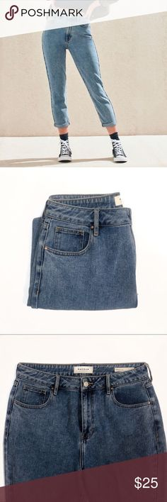 3e5832d9f6c Mom Jeans Lexi Blue Pacsun mom jeans. Super cute and brand new!