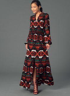 Shirtdress sewing pattern M7242 | McCall's Patterns