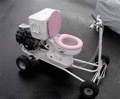 no more stops for bathroom breaks