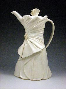 Wedding Dress Teapots & Bridal Gifts - DeBorah Goletz