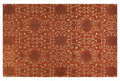 Maggie Rug, Rust- I actually bought a rug