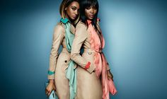 Naomi Campbell and Jourdan Dunn Front Burberry's S/S 2015 Campaign ...