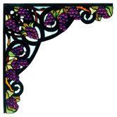 Found it at Wayfair - Tiffany Jeweled Grape Corner Bracket