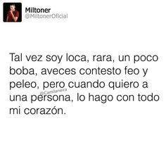 -y te peleo con mas ganas :D True Quotes, Words Quotes, Sayings, Amor Quotes, Spanish Memes, Spanish Quotes, The Words, Sad Love, Love You