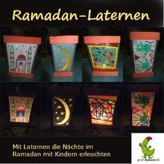 Light the month of #ramadan, genius lanterns for DIY