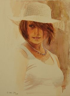 Realistic Oil Paintings of People | Art - Romantic Realism in oil and watercolor by Doris Joa - Realistic ...