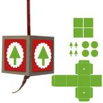 Family Ornament Silhouette Instructions |