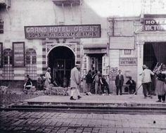 1898 مدخل فندق فكتوريا ( سميراميس حالياً ) - عام