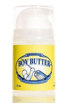 BOY BUTTER ORIGINAL - 2 OZ. PUMP #BoyButter