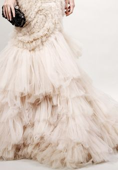 Frilly and beautiful.