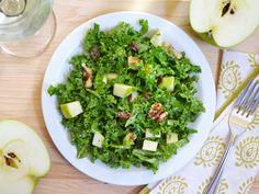 Budget Bytes: apple dijon kale salad $5.53 recipe / $1.38 serving