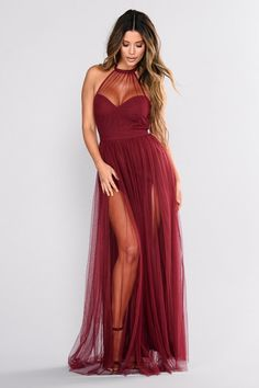 Weddings & Events Search For Flights Unique Long Prom Dress With Inside Petticoat Halter Ball Gown Backless Formal Gowns For Teens Burgundy Evening Dresses For Women For Improving Blood Circulation