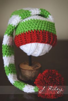 Crochet hat inspiration image only