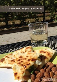 Apple Brie Arugula Quesadilla Recipe