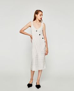 Ideal easy wearing summer dress from Zara. Available July 2017