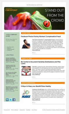 examples of company newsletter designs google search newsletters