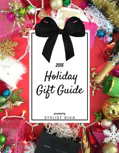 2015 Holiday Gift Guide  Over 200 Christmas gift ideas for every budget and everyone on your list! This curated holiday gift guide has everything from stocking stuffers, to beauty finds and all your fashion wants and needs! Happy Holidays!