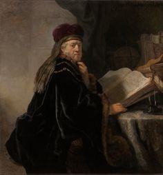 Scholar at his Study, 1634 by Rembrandt van Rijn