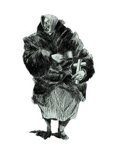 Beggars by Artem Krepkij, via Behance