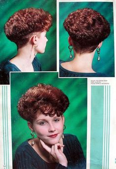 When you care for your hair your whole life changes. Good hair tells other people that you are put together. Short Curly Hairstyles For Women, Classic Hairstyles, Retro Hairstyles, Curly Hair Styles, Wedge Hairstyles, Short Silver Hair, Shaved Hair Cuts, Wedge Haircut, Oval Face Haircuts
