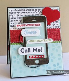 This cell phone gift card is a fun idea !