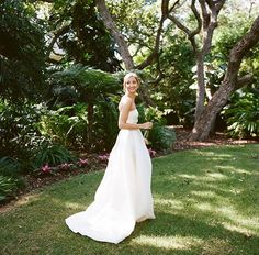 Tropical Florida Wedding at a Modern Estate :: Emily & David