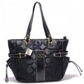 Coach Audrey Sateen Op Art Diaper Bag Black $76.00 http://www.coachstyles.com