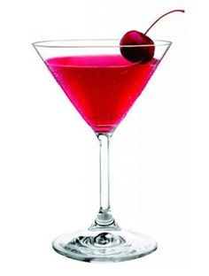 Cupids Broken Arrow Martini...3 oz Three Olives Mango Vodka, ½ oz Triple Sec, 1 oz Cranberry juice & a Splash Fresh Lime Juice....Shake with ice. Strain into a chilled martini glass. Garnish with a cherry.