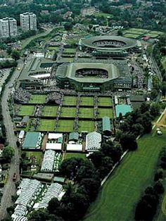 See tennis match at Wimbledon, the home of the All England Lawn Tennis and Croquet Club It is the only remaining major grass-court tennis venue in the world. Tennis Tournaments, Tennis Clubs, Wimbledon Tennis, Wimbledon London, Wimbledon Village, London Attractions, Lawn Tennis, French Open, Big Ben London
