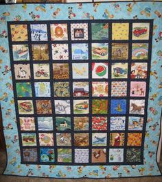 I Spy Quilt 2012, made for my grandson