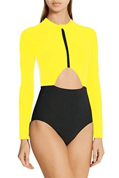 c181fb0ca11 Surf Swimwear Women Windsurf Rashgard Girl Swimsuit For Surfing Swim Wear  Suit 2017 New 2018 Zipper High Waist Maio Feminino