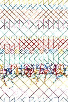 Rachel Parker Textile Artist Geometric Stitch Rachel Parker interview: An experimental approach