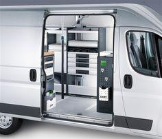 Peugeot Boxer bedrijfswageninrichting Commercial Van, Commercial Vehicle, My Dream Car, Dream Cars, Mobile Garage, Van Shelving, Van Racking, Mobile Workshop, Van Storage