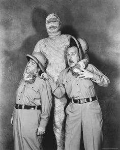Abbott and Costello  meet mumy
