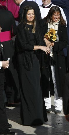 Princess Maxima of Netherlands attends the Inauguration Mass of Pope Francis in St. Peter's Square, 19 March