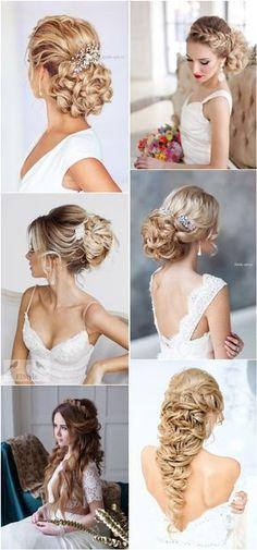 braided wedding hairstyles for long hair / http://www.deerpearlflowers.com/20-prettiest-wedding-hairstyles-and-wedding-updos/
