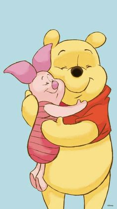 Winnie- the- Pooh. You never outgrow Pooh.