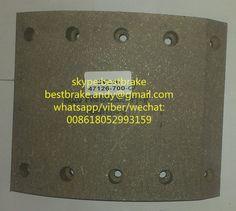 NAO brake lining 1-88311314-0