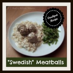 Swedish Meatballs (with pre-cooked meatballs)