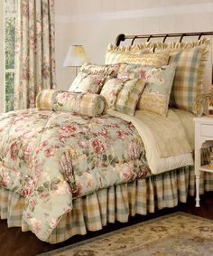 Take a look at this Jennifer Taylor Chesapeake Comforter Set by ACG Green Group on #zulily today!