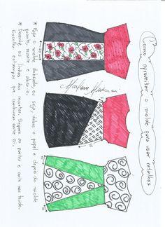 Como usar o molde de vestido com manga japonesa  para aproveitar tecido.
