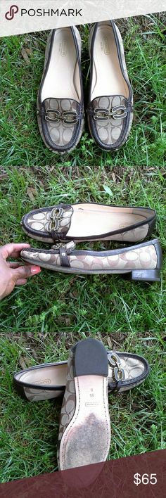 💢FIRM💢Coach ELLA Flats Very comfortable Coach Shoes Flats & Loafers
