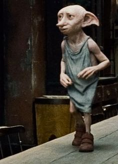 Dobby in his snazzy shoes