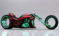 Flavio Adriani created what for most of us is a combination between a chopper and a speed bike. The hubless wheel design isn't shocking anymore after seeing a few concepts with this feature, but the overall product looks at least strange. Is this the future of choppers?