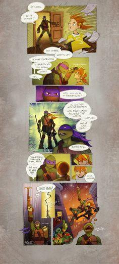 Apriltello comic pg1 by suthnmeh.deviantart.com on @deviantART