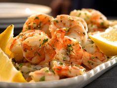 Lemon-Garlic Marinated Shrimp | http://aol.it/1tOefJx